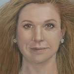 Blonde jonge vrouw door Karin