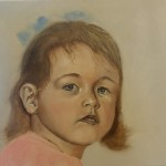 Jonge meid, geschilderd door Nel